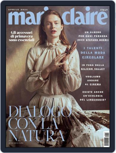 Marie Claire Italia April 1st, 2021 Digital Back Issue Cover