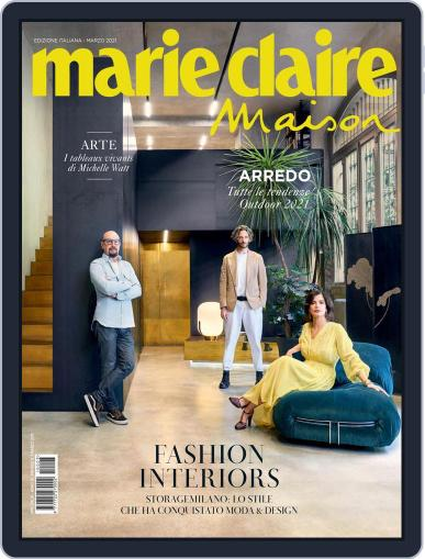 Marie Claire Maison Italia March 1st, 2021 Digital Back Issue Cover