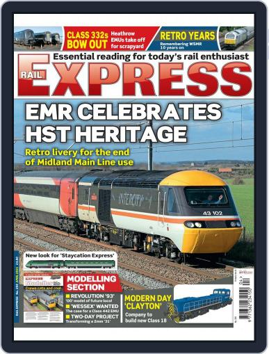 Rail Express (Digital) April 1st, 2021 Issue Cover