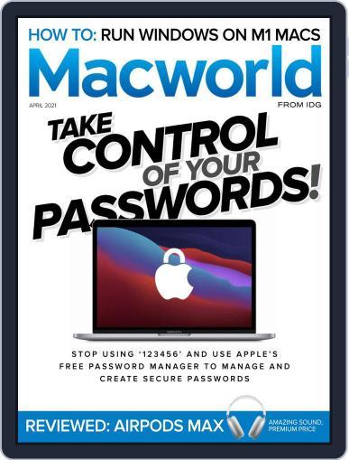 Macworld April 1st, 2021 Digital Back Issue Cover