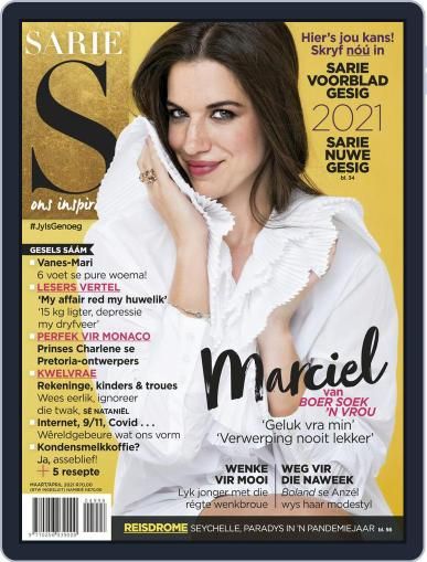 Sarie March 1st, 2021 Digital Back Issue Cover