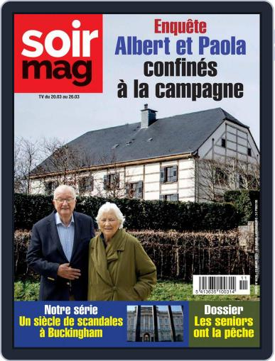 Soir mag (Digital) March 20th, 2021 Issue Cover