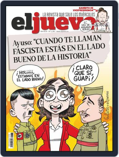 El Jueves (Digital) March 16th, 2021 Issue Cover