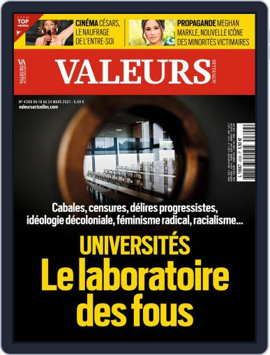 Valeurs Actuelles (Digital) March 18th, 2021 Issue Cover