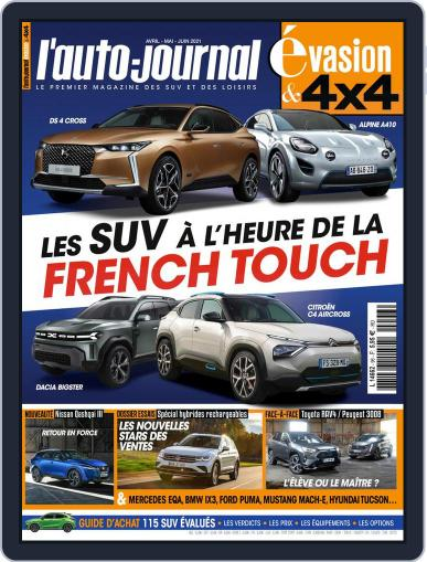 L'Auto-Journal 4x4 (Digital) April 1st, 2021 Issue Cover