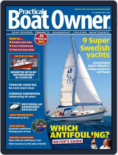 Practical Boat Owner (Digital) May 1st, 2021 Issue Cover