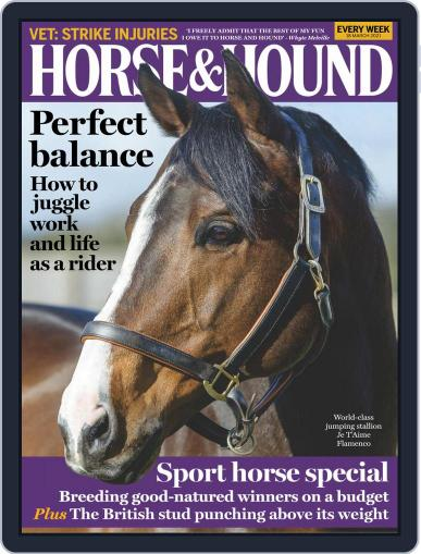 Horse & Hound (Digital) March 18th, 2021 Issue Cover