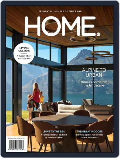 Home New Zealand (Digital) February 1st, 2021 Issue Cover