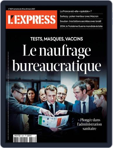 L'express (Digital) March 18th, 2021 Issue Cover