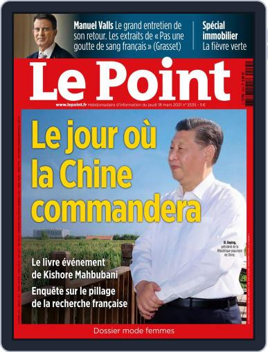 Le Point March 18th, 2021 Digital Back Issue Cover
