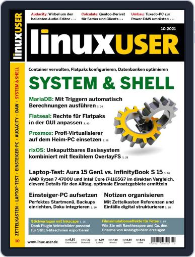 LinuxUser Magazine (Digital) October 1st, 2021 Issue Cover