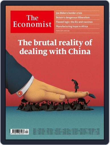 The Economist Continental Europe Edition March 20th, 2021 Digital Back Issue Cover