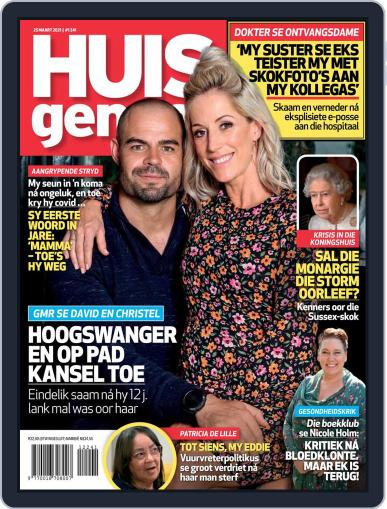 Huisgenoot (Digital) March 25th, 2021 Issue Cover