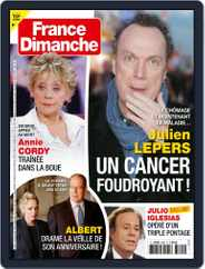 France Dimanche (Digital) Subscription March 25th, 2021 Issue