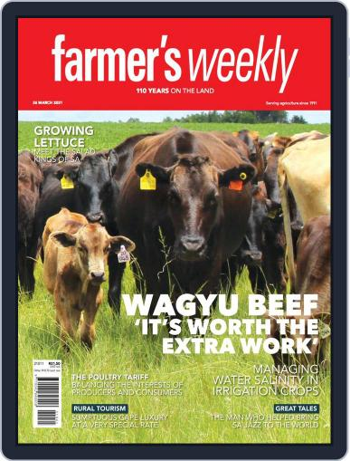 Farmer's Weekly March 26th, 2021 Digital Back Issue Cover