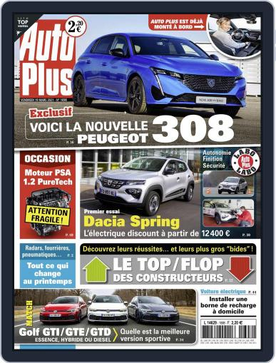 Auto Plus France (Digital) March 19th, 2021 Issue Cover