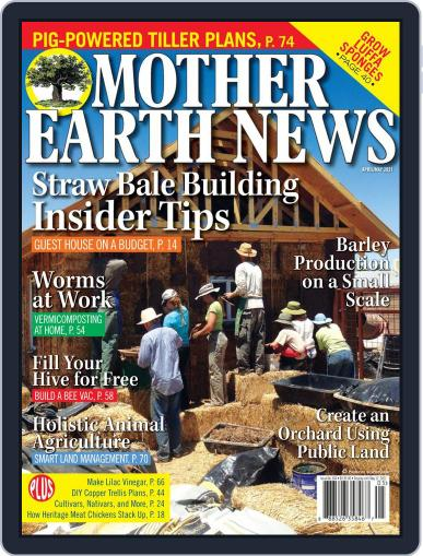 MOTHER EARTH NEWS April 1st, 2021 Digital Back Issue Cover