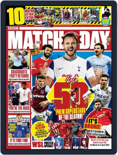 Match Of The Day (Digital) March 22nd, 2021 Issue Cover