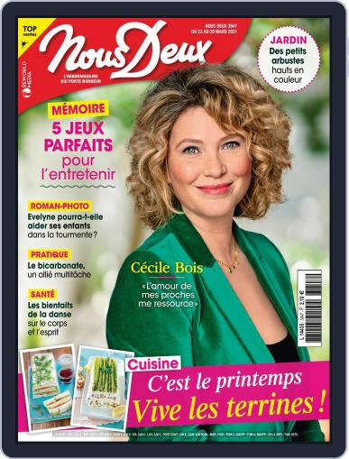 Nous Deux March 23rd, 2021 Digital Back Issue Cover