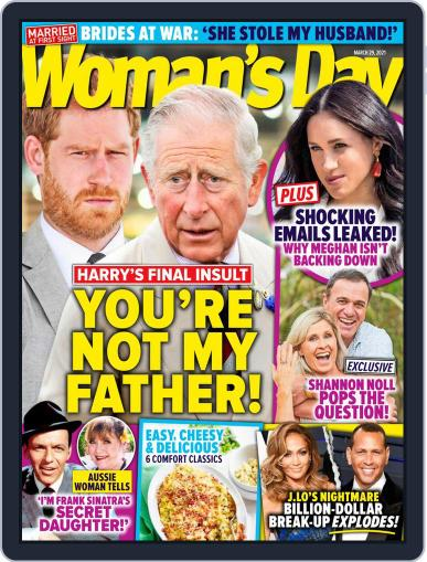 Woman's Day Australia (Digital) March 29th, 2021 Issue Cover