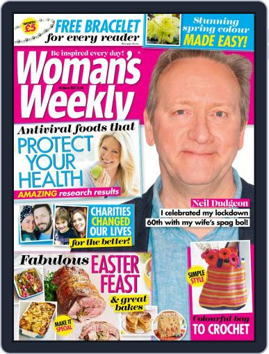 Woman's Weekly March 30th, 2021 Digital Back Issue Cover