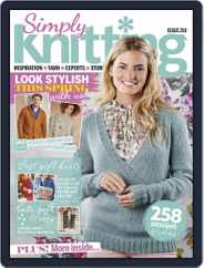 Simply Knitting (Digital) Subscription May 1st, 2021 Issue