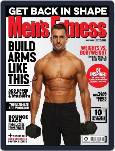 Men's Fitness UK (Digital) April 1st, 2021 Issue Cover