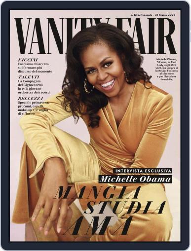 Vanity Fair Italia (Digital) March 31st, 2021 Issue Cover