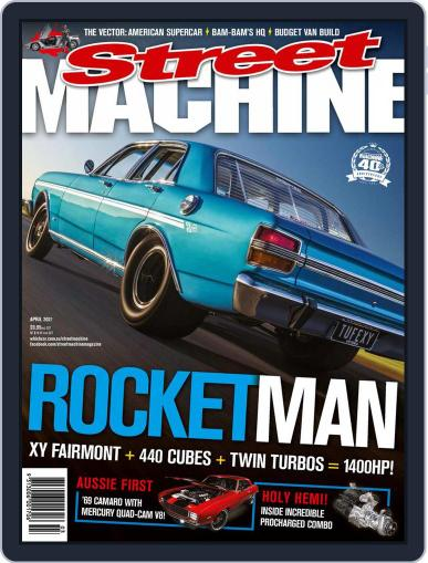 Street Machine April 1st, 2021 Digital Back Issue Cover