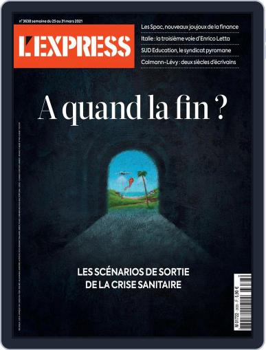 L'express (Digital) March 25th, 2021 Issue Cover