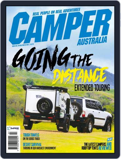 Camper Trailer Australia (Digital) March 1st, 2021 Issue Cover