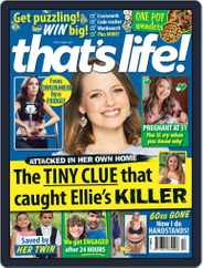 that's life! (Digital) Subscription April 1st, 2021 Issue