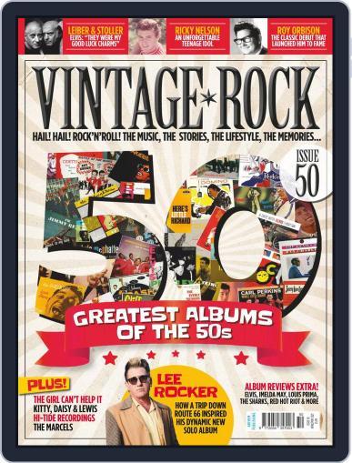 Vintage Rock (Digital) April 1st, 2021 Issue Cover