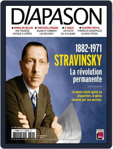 Diapason (Digital) April 1st, 2021 Issue Cover