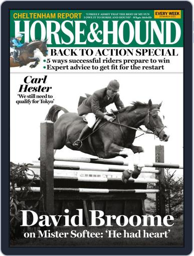 Horse & Hound (Digital) March 25th, 2021 Issue Cover