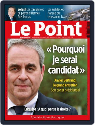 Le Point (Digital) March 25th, 2021 Issue Cover