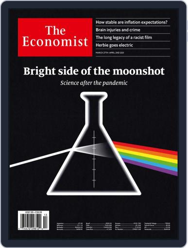 The Economist Latin America March 27th, 2021 Digital Back Issue Cover