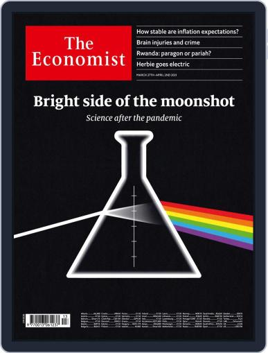 The Economist Continental Europe Edition March 27th, 2021 Digital Back Issue Cover