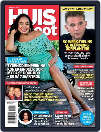 Huisgenoot (Digital) April 1st, 2021 Issue Cover