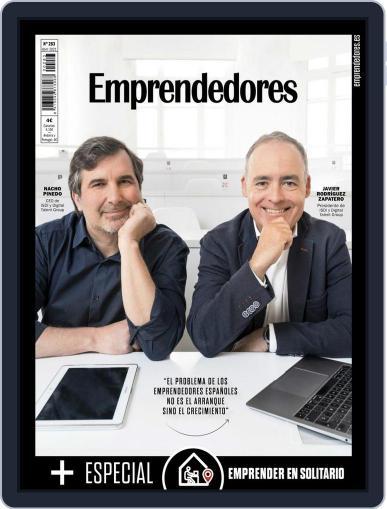 Emprendedores April 1st, 2021 Digital Back Issue Cover