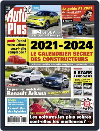 Auto Plus France (Digital) March 26th, 2021 Issue Cover