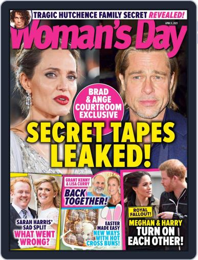 Woman's Day Australia (Digital) April 5th, 2021 Issue Cover