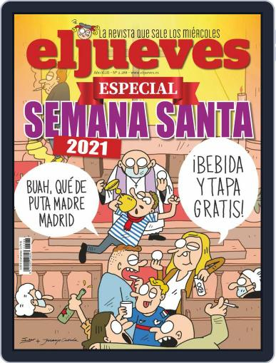 El Jueves (Digital) March 31st, 2021 Issue Cover