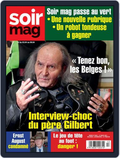 Soir mag March 31st, 2021 Digital Back Issue Cover
