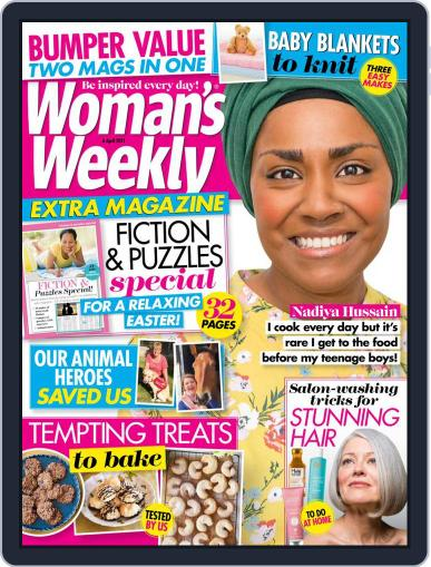 Woman's Weekly April 6th, 2021 Digital Back Issue Cover