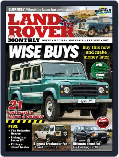 Land Rover Monthly May 1st, 2021 Digital Back Issue Cover