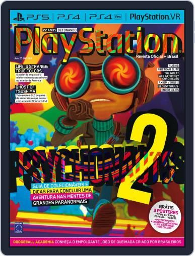 PlayStation Magazine (Digital) October 1st, 2021 Issue Cover