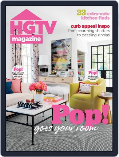 Hgtv (Digital) May 1st, 2021 Issue Cover