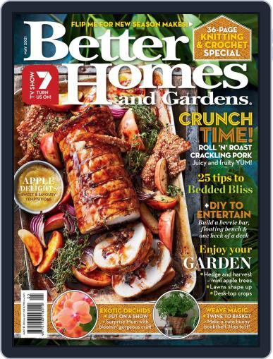 Better Homes and Gardens Australia (Digital) May 1st, 2021 Issue Cover