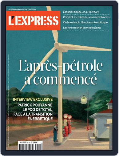 L'express (Digital) April 1st, 2021 Issue Cover
